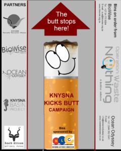 Knysna Kicks Butt Campaign